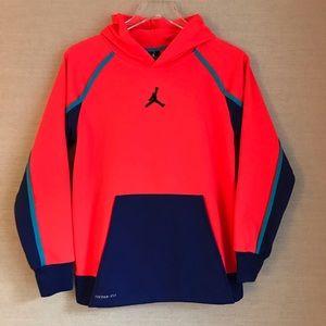 Boys Nike Jordan Therma Fit Hoodie